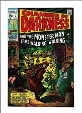 CHAMBER OF DARKNESS #4  [1970 VF]  CONAN TRY-OUT!