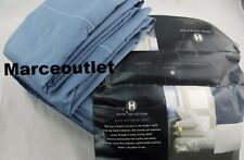 Hotel Collection 525 Thread Count Egyptian Cotton TWIN Sheet Set Sea Blue