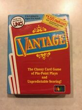Vintage 1985 Vantage Card Game by Uno Playing Cards Sealed Complete