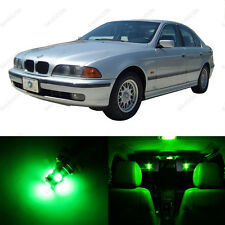 18 x Green LED Interior Light Package For 1996 -2003 BMW 5 Series M5 E39