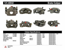 Centric Parts 141.40042 Front Left Rebuilt Brake Caliper With Hardware