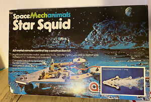 Spacemechanimals Star Squid All Metal Remote Control Toy