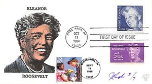 3185D 32c Celebrate Century, 30's, 1st Lady Eleanor Roosevelt Pugh [091521.309]