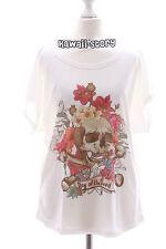 TP-05 skull goth punk vintage print t-shirt Lolita Harajuku Japanese