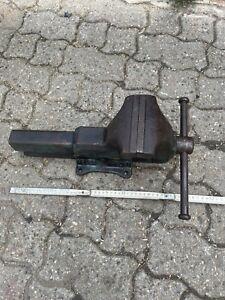 Heuer Front  Schraubstock  BB 125mm SB Ca160mm Rohrschraubstock