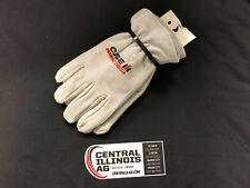 Case Ih Large Lined Suede Cowhide Gloves Mc6855L