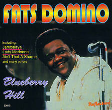 "FATS DOMINO ""Blueberry Hill"" Top Album! CD 14 Tracks NEU & OVP"