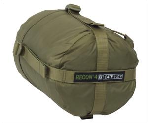 HALO Recon 4 Gen II Sleeping Bag 14°F -10°C Military Spec Tactical COYOTE TAN