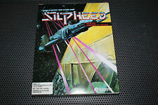 """SILPHEED 1986 Vintage PC Game by Sierra 3.5"""" Disks Complete in Box RARE"""