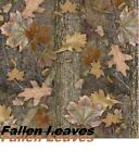 """19X39"""" Water Transfer Printing Film, Hydrographic CAMO Fallen Leaves Pattern US"""