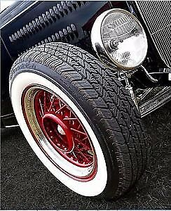 Atlas Whitewall Inserts 17'' NEW SET OF 4 portawall tyre trims flappers 17 inch