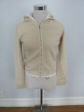 PRADA beige sweatshirt/jacket size 42 US 6, NWT!