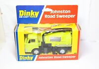 Dinky 449 Johnston Road Sweeper In Its Original Box - Near Mint Vintage Ex Shop