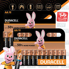 24x DURACELL AA Plus Power Alkaline Batteries DURALOCK LR6 MN1500 Longest Expiry