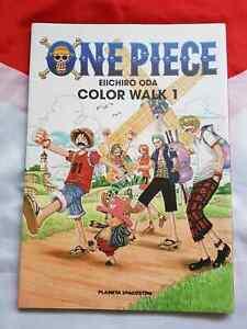 One Piece Eiichiro Oda Color Walk 1 Art Book
