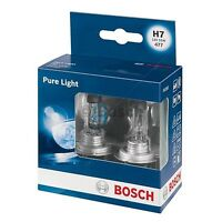BOSCH Pure Light Headlight Bulb 477 H7 12V - TWIN PACK