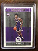 📈2017-2018 DeAaron Fox NBA Hoops Rookie Card RC #255 MINT
