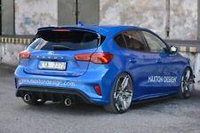 Sportauspuff Heckdiffusor für Ford Focus 4 ST-Line EcoBoost Auspuff Diffusor V1