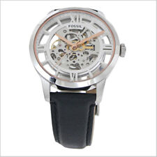 **NEW** MENS FOSSIL TOWNSMAN AUTOMATIC SKELETON LEATHER WATCH - ME3041 -RRP £209