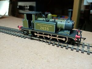 OO gauge Dapol Southern A1X Terrier in Southern olive green livery. Runs well