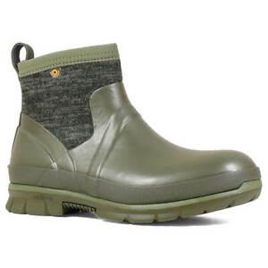 Bogs Women's Crandall Boots Waterproof Low, Olive Multi, Size 7 72420-302-070