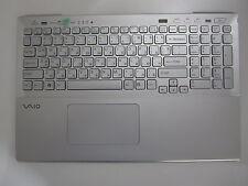 Sony Vaio SVS15 Tastatur mit Rahmen Touchpad BG P/N: 9Z.N6CBF.50B 045-0001-227_A