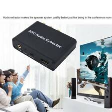 HDMI ARC Adapter to Optical Toslink SPDIF+RCA L/R Stereo Analog Converter 5.1 CH