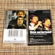 Lot of 2 cassettes SIMON AND GARFUNKEL Bridge Over Troubled Water / Central Park