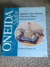 Oneida studios Lighthouse Point Collection, St. George Reef, Ca. Used In Box.