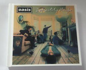 Oasis : Definitely Maybe 2014 Deluxe Remastered Edition 3x CD Box Set EXCELLENT