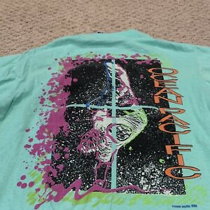 VTG Ocean Pacific 1989 Surf Graphic T Shirt 1980s Made In USA Tee Mens Small