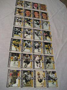 2007-08 Michigan Hockey Card Team Set of 28 dif SGA