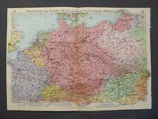Landkarte des Deutschen Reiches und Nachbargebiete, Velhagen & Klasing 1939