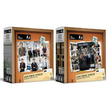1000pc The Office Jigsaw Puzzle Combo Set Cork Board Photos & Character Photos