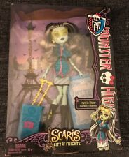 MONSTER HIGH SCARIS CITY OF FRIGHTS FRANKIE STEIN ~ BRAND NEW IN PKG ~IN HAND