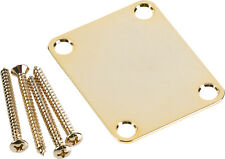 FENDER GOLD TONE NECK PLATE ORIGINAL STRAT/TELE TELECASTER STRATOCASTER