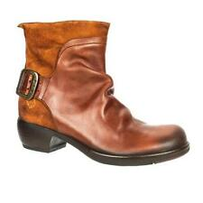 FLY London 100% Leather Textile Boots for Women