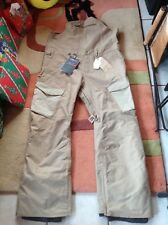 BURTON Snowboard Ski Bib overall insulated Gore-Tex pants. New. Men's Small