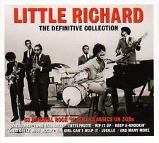 LITTLE RICHARD - THE DEFINITIVE COLLECTION - 60 ORIGINAL CLASSICS (NEW 3CD)