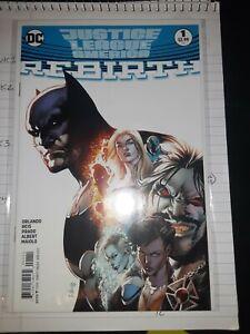 Justice League Of America Rebirth #1A (April 2017, DC)