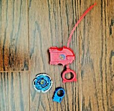 Beyblade red and blue