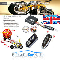 MOTORCYCLE SCOOTER ALARM IMMOBILISER WITH REMOTE START*SPECIAL OFFER* UK OFFER