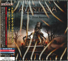 TOBIAS SAMMET'S AVANTASIA-THE WICKED SYMPHONY-JAPAN CD BONUS TRACK Ltd/Ed F75
