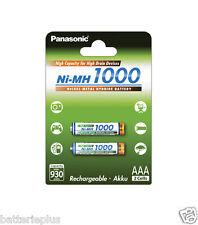 Panasonic High Capacity AAA Micro R3 Akku Ni-Mh 1000 930mAh BK-4HGAE/2BE