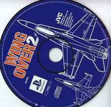 PS1 Wing Over 2 PAL Deutsch Play Station nur Spiele DISC!