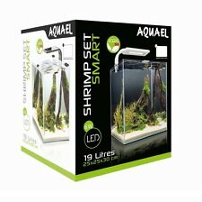 SHRIMP SET SMART LED 20 WHITE AQUAEL CARIDINE PESCI PIANTE ACQUARIO COMPLETO