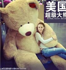 102'' Giant Super Semi-Finished Skin Teddy Bear (Without Cotton ) Huge Toy Gift