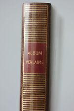 RARE ALBUM DE LA PLEIADE - VERLAINE - GALLIMARD 1981