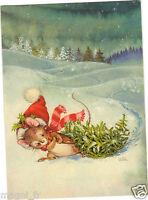 Fantasía - TARJETA POSTAL- - Pequeño ratones