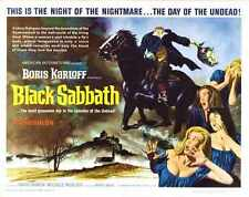 Black Sabbath Poster 03 A2 Box Canvas Print